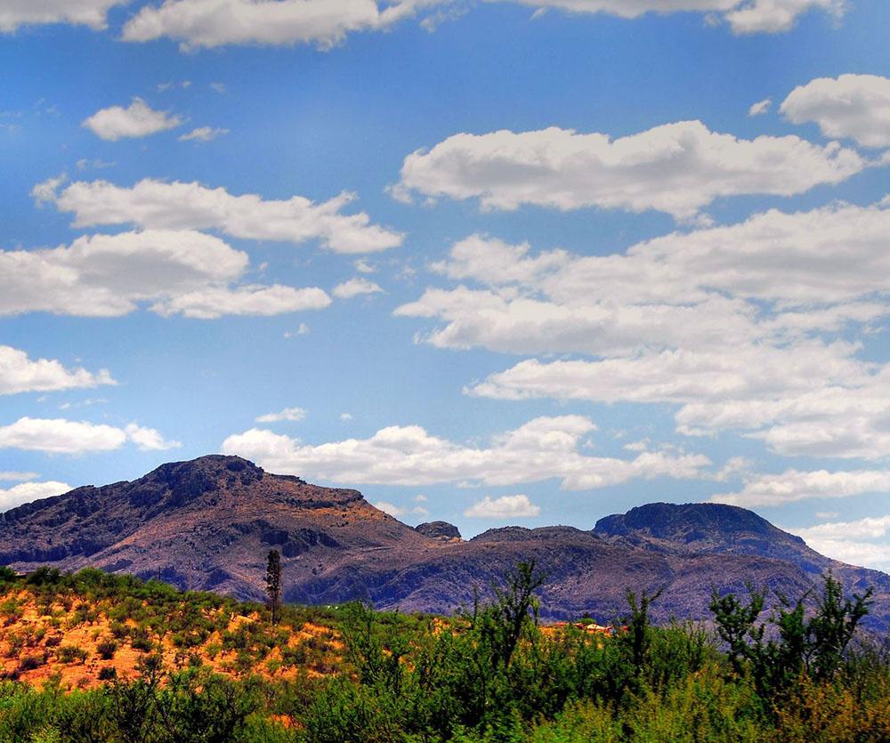 Mountainscapes around Tucson.
