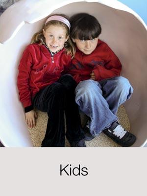 Kids have fun in Santa Fe